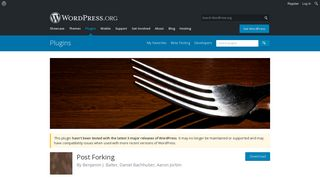 Post Forking
