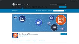 My Content Management