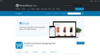 Ecwid Shopping Cart